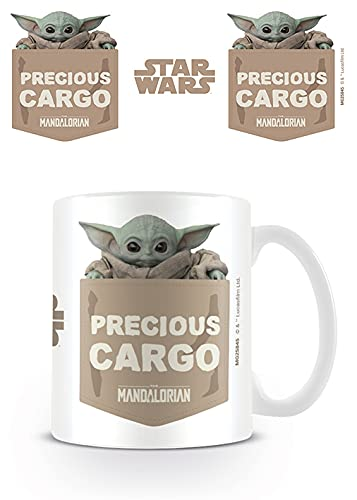 Star Wars: The Mandalorian MG25845 mok van keramiek, 315 ml (waardevol zilver)