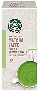 Starbucks Matcha Latte Premium Coffee Mix (3-in-1), 24g (Pack of 4)