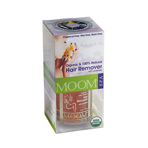 Moom 100% orgánico lavanda Kit de depilación para alta piel