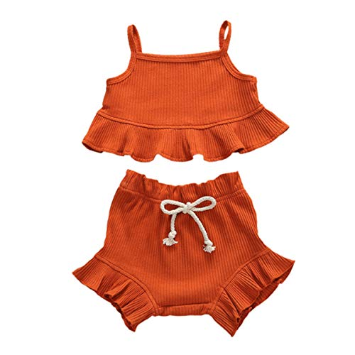 Haokaini 2 STKS Baby Meisje Zomer Kleding Set Mode Outfits Casual Pak Strap Top + Shorts