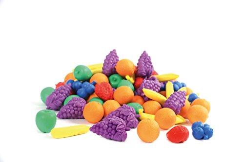edx education 53188 Conjunto de figuritas de frutas para contar, 108 unidades