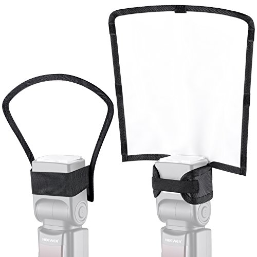 Neewer 2 pezzi Kit Speedlite Softbox Diffusore, 25,4 x 22,9 x...