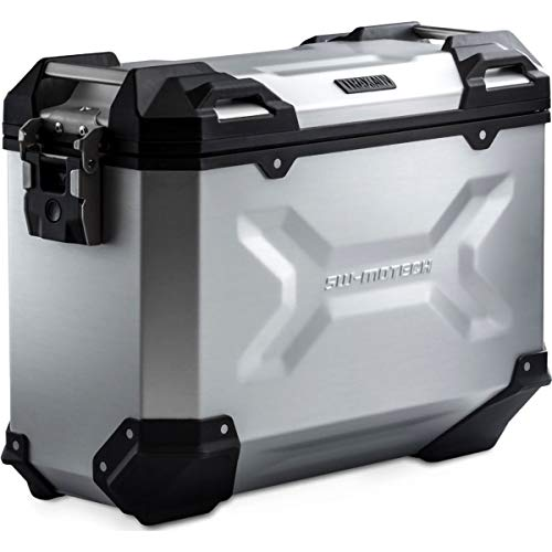 SW-Motech - Maleta (Caja) de alumino Trax ADV L 45 l. Izquierda. Plateado. - ALK.00.733.10000L/S