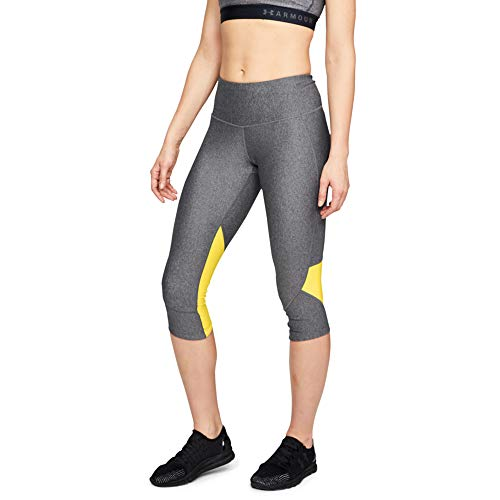 Under Armour Armour Fly Fast Leggings Capri, Mujer, Gris (019), S