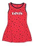Levi's Kids 1EC695 Robe Bébé Fille - Rouge - 24 mois