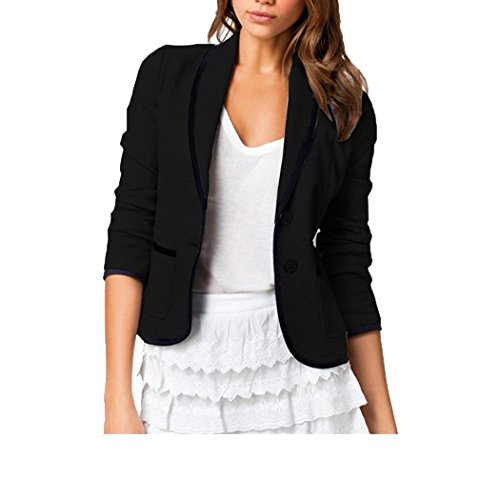 Kaluo Women Fashion Casual Work Blazer Office Jacket Lightweight for Juniors