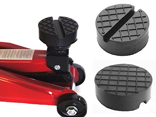 75x25mm V-Nut/Waffel Gummiauflage Gummi-Unterlage Auflage Wagen-Heber Hebebühne rund Auto Klotz Rangier-Wagenheber Puffer Reifen Reifenwechsel LKW Räder KFZ Tuning Zubehör