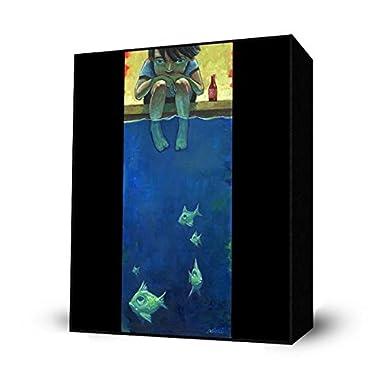 Fish and Me Mini Art Block