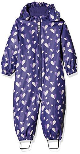 Racoon baby-meisjes regenjas Wendy Rain Fleece Suit