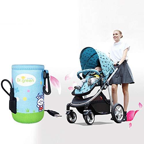 Muttermilchflaschen, Wärmeisolierte Flaschentasche Tragbare wärmeisolierte USB-Einkaufstasche für heiße Milch