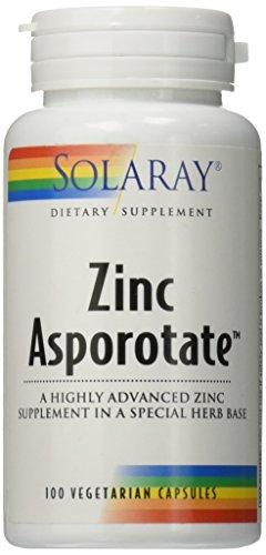 Solaray Zink Asporotat 15 mg   100 VegCaps
