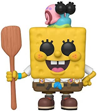 Funko Pop Animation Spongebob Movie Spongebob in Camping Gear product image