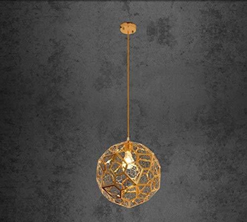 WYJBD Luster Vergolden Höhlen kreative Dessert Café Kleidung Shop Shop-Lampe Edelstahl