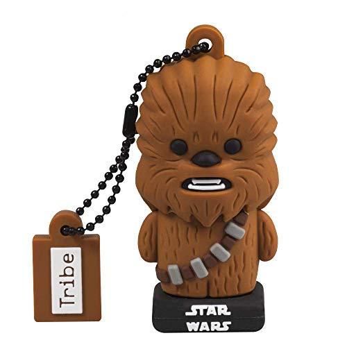 Chiavetta USB 32 GB Chewbacca TLJ - Memoria Flash Drive 2.0 Originale Star Wars, Tribe FD030720