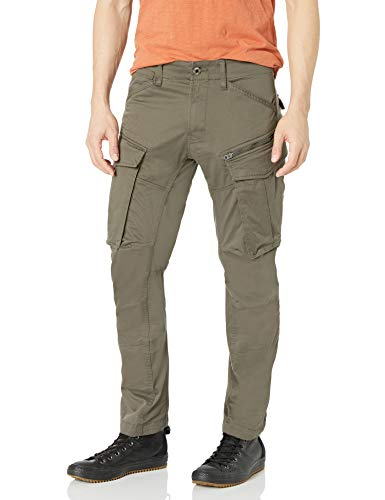 G-STAR RAW Herren Rovic Zip 3d Straight Tapered Hose, Grün (green 5126-1260), W29 / 30L
