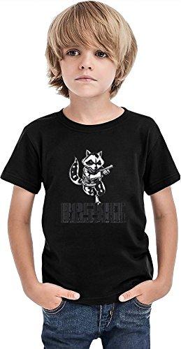 Styleart - Camiseta de manga corta - para niño Negro negro