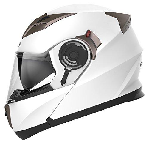 Casco Moto Modular ECE Homologado - YEMA...