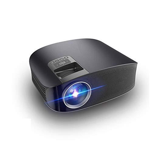 CZX HD LCD Heimkinoprojektor, Unterstützung 1080P LED Office Home Video-Projektor-Handy mit dem gleichen Screencompatible mit HDMI VGA-Handel USB Microsd