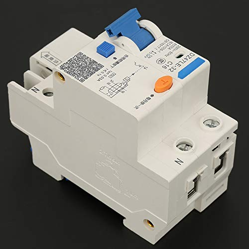 Interruptor de circuito, interruptor de circuito de corriente eléctrica 50Hz de plástico, metal hecho 16a, 20a