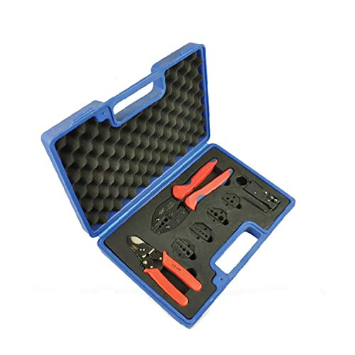 Crimping Tool Crimping Pliers Hand Crimping Tool Kit with Cable...