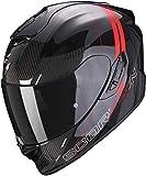 Scorpion EXO-1400 CARBON AIR DRIK Black/Red XL