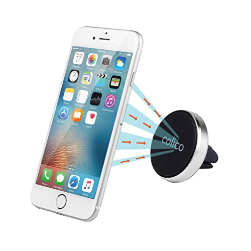 COLICO Magnetische Handyhalterung Magnethalterung Handy Auto Lüftung Magnet KFZ Halterung für Smartphones Mini Tablets Navigationsgeräte