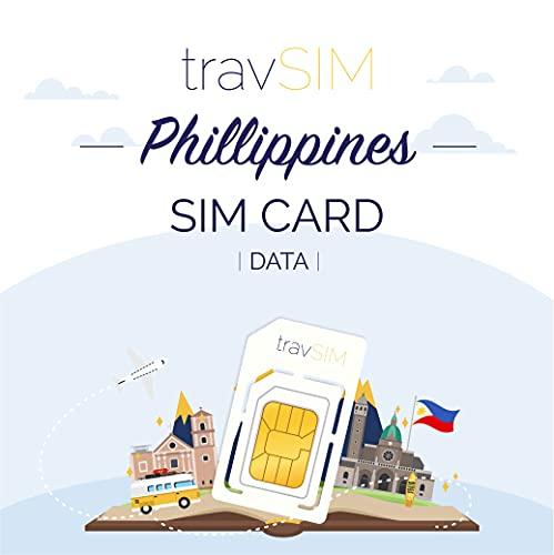 travSIM - Tarjeta SIM Prepaga Filipinas(SIM de Datos para-Filipinas) - 10GB de...
