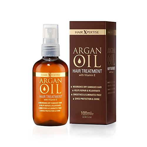 Hair Xpertise Moroccan Argan Oil- Treatment For Damaged Hair | Nourishes And Moisturises Dry Hair |...