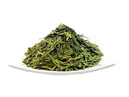Organic Dragon Well , a classic Chinese Green tea distinguished by its color , shape and taste- 4 OZ Bag