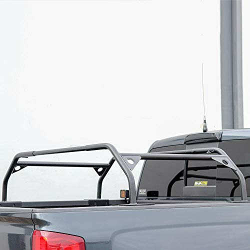 Tuff Stuff Rooftop Tent Truck Bed Rack, Adjustable, Powder Coated, Black, 40'