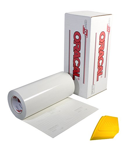 Oracal Clear Transfer Tape Roll (12 inch x 20 Foot)