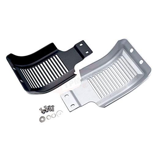 QOHFLD Cubierta de alerón de carenado de mentón de Aluminio, Placa de Deslizamiento del Motor, protección del chasis, protección del Marco, para Harley Sportster XL883 XL1200 48 72