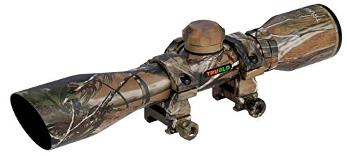 TRUGLO Crossbow Scope 4X32 with Rings APG