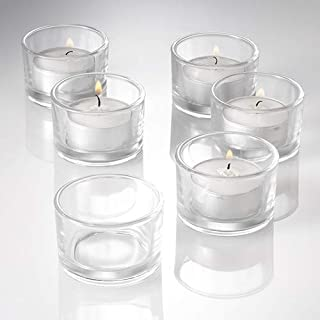 Eastland® Tealight Candle Holders Clear Set of 12