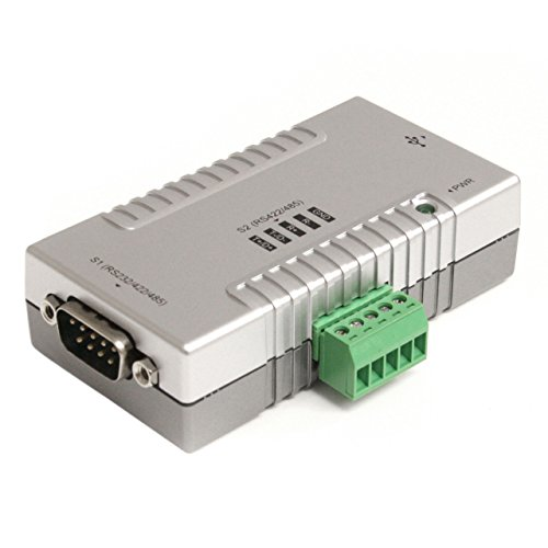 StarTech.com USB 2.0 auf 2x Seriell Adapter, USB zu 2 fach RS232 / RS422 / RS485 Seriell Schnittstellen Konverter (COM)