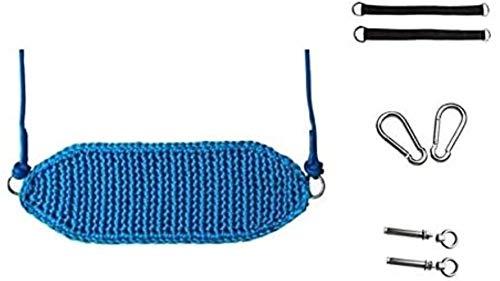 Columpio Infantil Hong Yi Fei-shop cambios de cubierta y descubierta transpirable tejido de oscilación oscilaciones de juegos portátiles for niños silla colgante de diseño ergonómico apto for uso inte