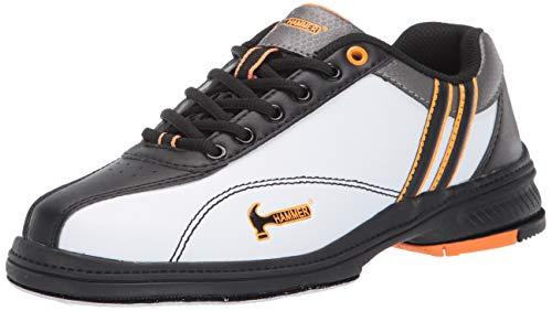 Hammer Womens Vixen Performance Bowling Shoes (6 1/2 M US, White/Black/Orange)