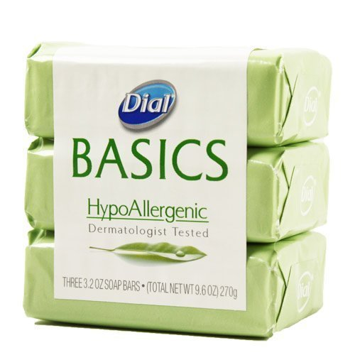 Dial Basics Hypoallergenic Bar Soap