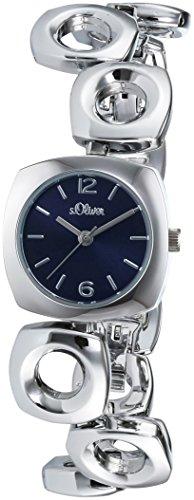 s.Oliver Damen-Armbanduhr XS Analog Quarz Alloy SO-3006-MQ
