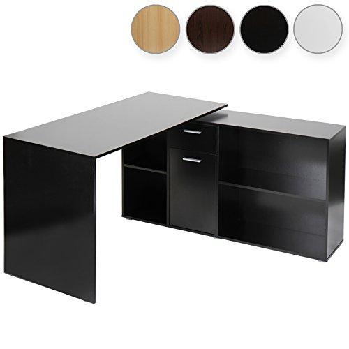 Miadomodo Scrivania tavolo ad angolo angolare colore a scelta