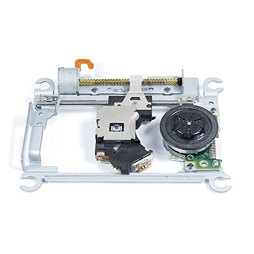 Laser Lens Pickup Assy PVR-802W Replacement, for Sony Playstation 2 Slim PS2 SCPH 77001 77004 77000 Series Game Console, Complete Assmebly W/ Mechanism Deck TDP182W, Repair Spare Parts Accessories