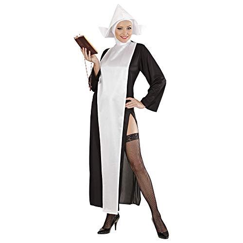 WIDMANN Widman - Disfraz de monja sexy para mujer, talla XL (3138S)