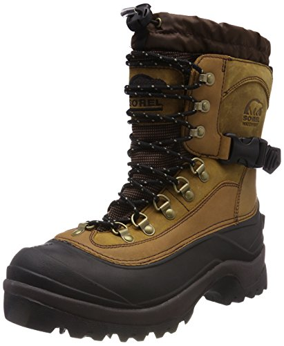 Sorel Men's Conquest Snow Boot,Bark,7 M US