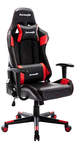 Gaming Chair Video Game Chair, High Back Computer Chair Racing Style PU Leather Office Chair,...