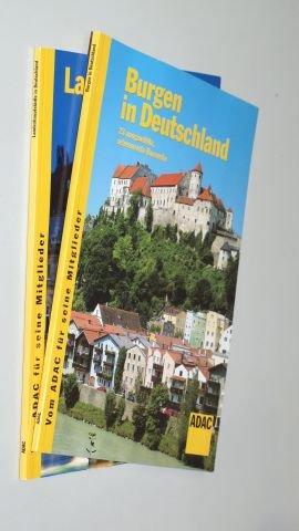 Burgen in Deutschland. 23 ausgewählte, sehenswerte Bauwerke. ADAC ReiseService, 2002. 4°. 64 S. m. Abb. - dazu: Landeshauptstädte in Deutschland. ADAC, 2003. 64 S. m. Abb. kart. (ISBN 3-8003-0638-7)