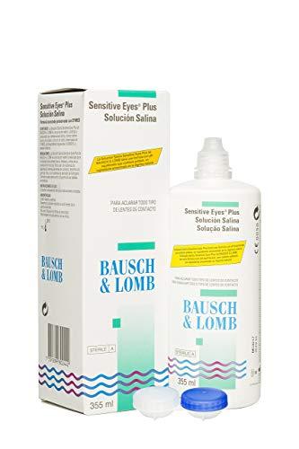 BAUSCH + LOMB - Sensitive Eyes Plus Solución Salina - 355 ml