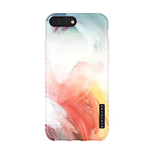 iPhone 8 Plus & iPhone 7 Plus Case Watercolor, Akna Charming Series High Impact Silicon Cover with Full HD+ Graphics for iPhone 8 Plus & iPhone 7 Plus (Graphic 101777-U.S)