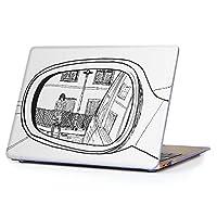 """MacBook Air 13inch 2018/2019モデル / A1932 専用ハードケース マックブック エア Mac 13"""" インチ 専用 ケース カバー クリア アクセサリー 保護 (2010年 ~ 2017年モデル 非対応) 013599 ミラー 鏡 車"""