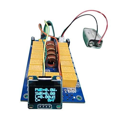 KKmoon Automatik Antennentuner 1,8-50 MHz ATU-100 DIY Tuner Kits von N7DDC 7x7 + 0,96 Zoll OLED-Firmware programmiert