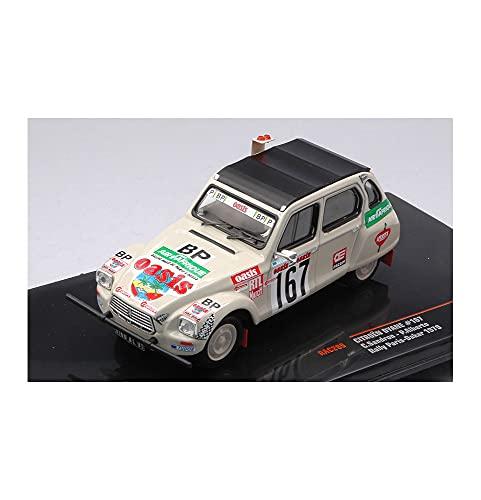 CITROEN DYANE N.167 RALLY PARIS-DAKAR 1979 SANDRON-ALBERT 1:43 - Ixo Model - Auto Rally - Die Cast - Modellismo